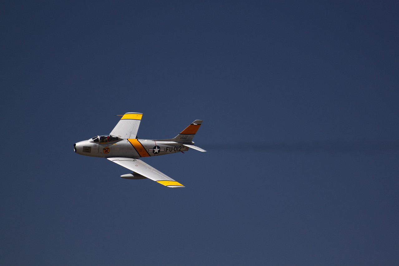 North American Rare F-86 Saber Jet.