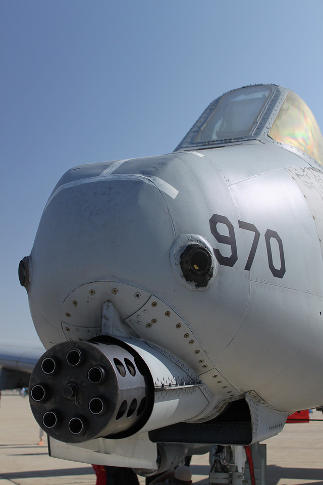 A-10 Warthog front end means business!