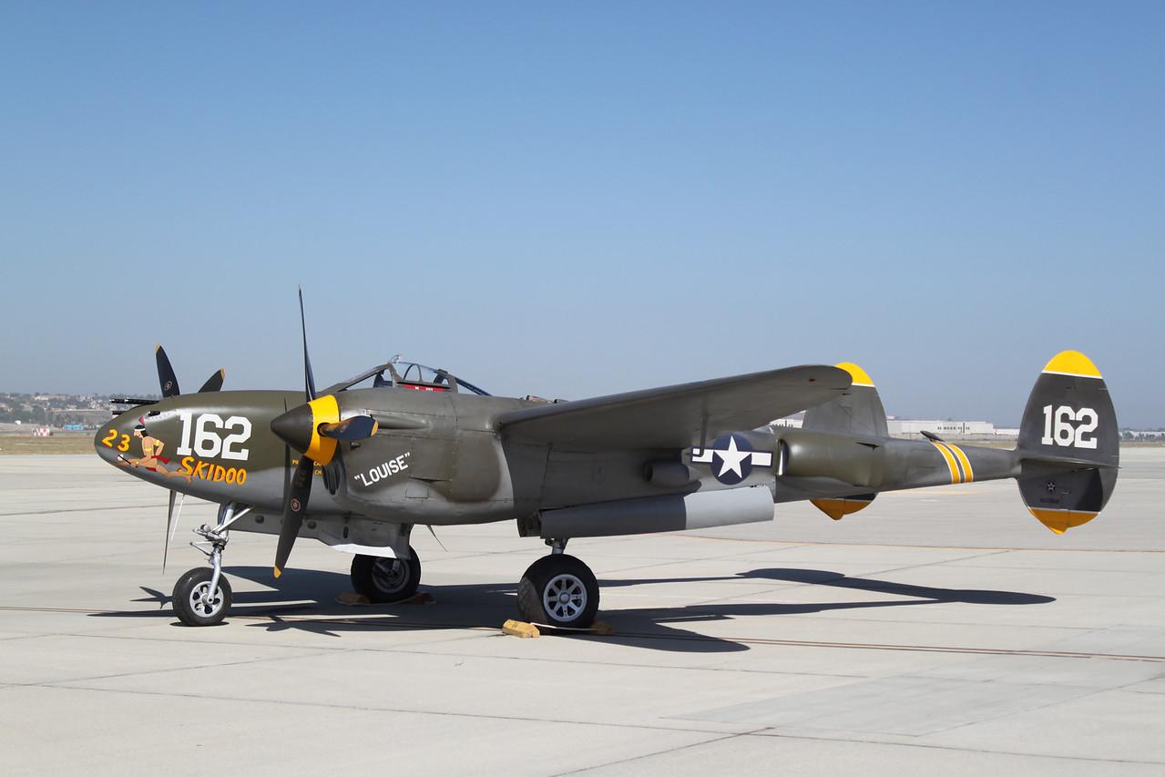 Lockheed P-38 Lightning.