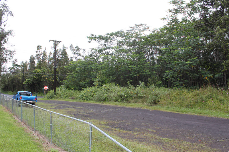 On Maui Rd, looking at the corner of Maui Rd. and Kehau Rd. (looking north).