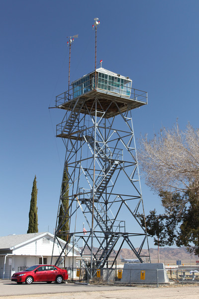 1944 Kingman Army Airfield control tower.