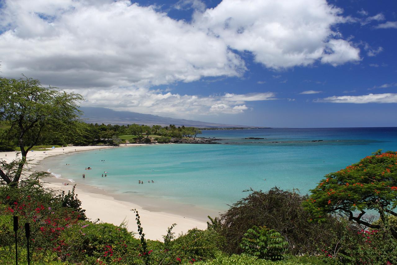 Kauna'oa Bay (Mauna Kea Beach).