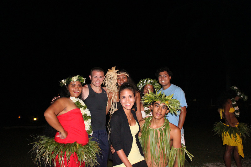 Wednesday Polynesian dance and dinner at Club Bali Hai.