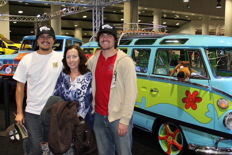 Scooby Doo was there too!