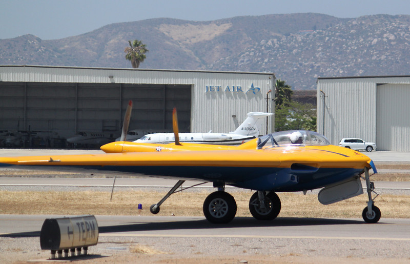 IMG_1421 Northrop 9-MB taxis out, notice 4th wheel/gear aft.