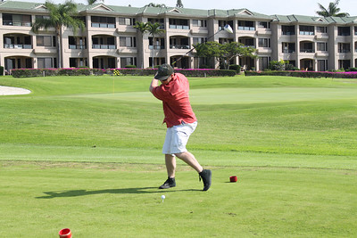 Teeing off at Number 4, power hitter!
