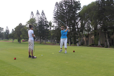 Golf day, teeing up at 1.