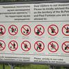 Not allowed!