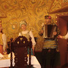 Geared towards tourists, but authentic entertainment & very high quality, old-style Russian food.