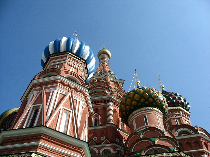 Domes of  St. Basil's.