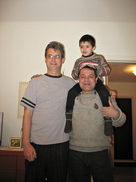 "Batir Mukhamedov, his son, Murad a.k.a.""Jimmy"", and Rustem."