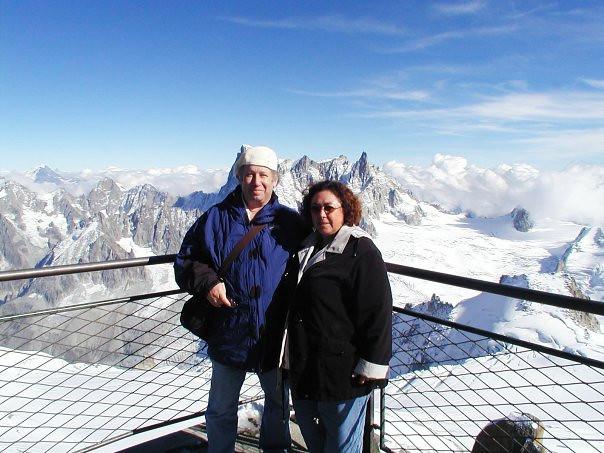 Rich & Lupe Reader, Mont Blanc.