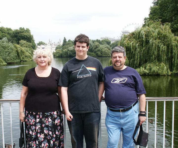 The Ioffe Family. Irina, Simon & Arkady.