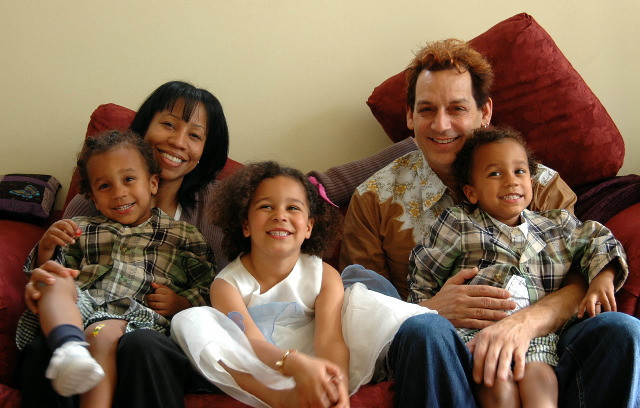 The Sposato (Blue) Family. Franie, Shante & kids. (2004)