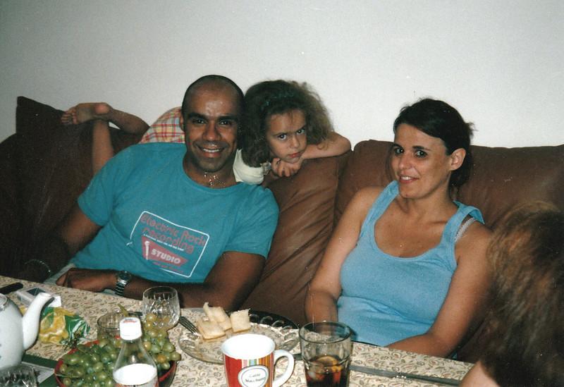 Mark & Valerie Barantan with their daughter, Liza.