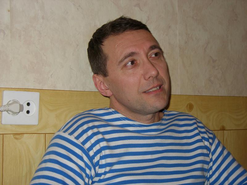 "Rustem's ""oldest"" friend from grade school, Sergei Pushkin."