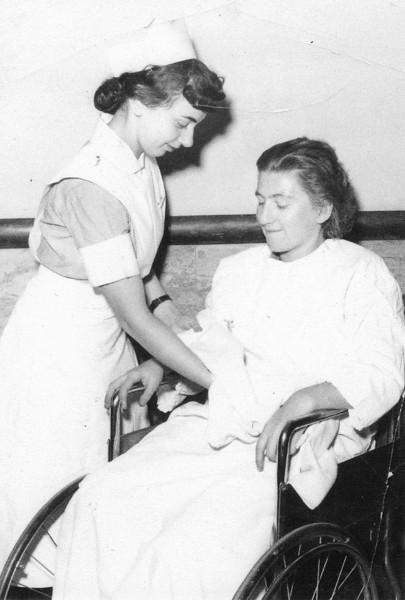Debbie Blassberg, R.N. Beth Israel Hospital. Brookline, Mass. (1952)