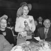 Anne Gilman, Nanna accepting Citation Award.