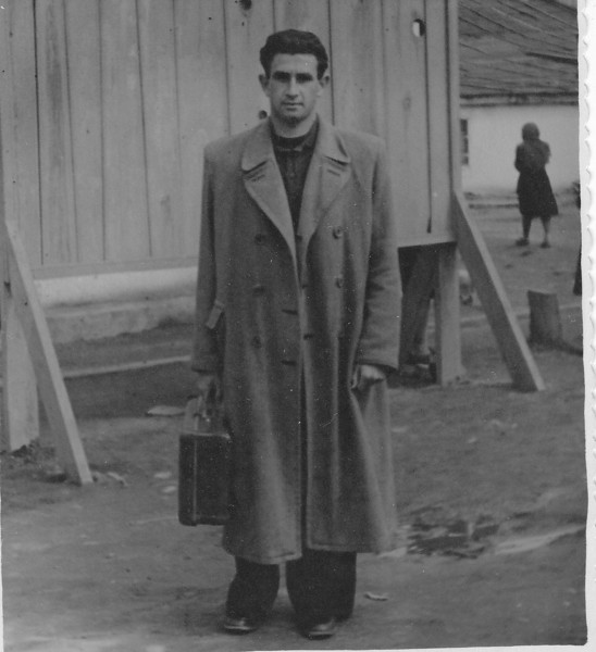 Emanuel Gerin, Malkie's son. (1954)