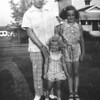 Mom (right) with her sister, Marilyn, and father, Seigmund Blassberg.