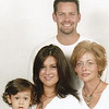 Sister Cindy (right) with her family. Daniel, Kelly & Alexander.