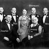 My grandfather, Herman, with his mother, Jenny, brothers and sister. One brother, Henry isn't shown.