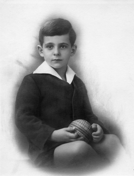 Len Gilman, about 5 years old.