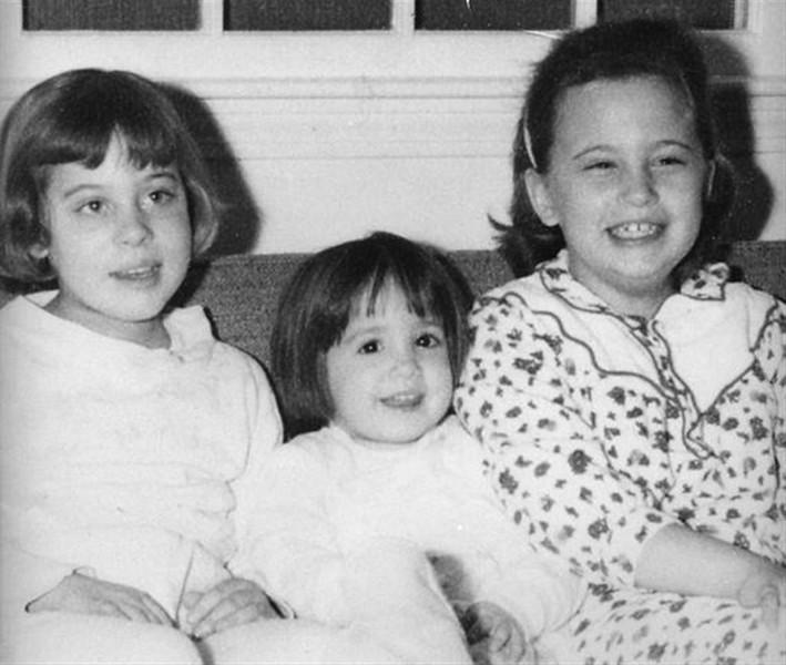 The Gilman girls. Cindy, Julie, Susan.
