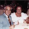 Mom & Dad at a Temple Beth David dinner. (1985)