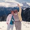 Mom & Dad atop Mt. Cook. New Zealand.