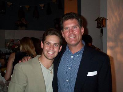 Daniel & his dad, Chris.