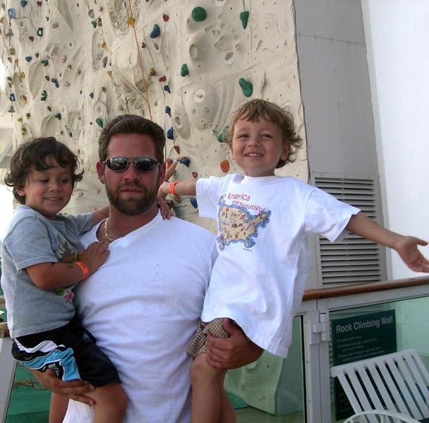 Alexander, Daniel & Joshua cruising. (2006)