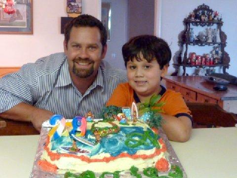 Daniel's 29th Birthday with Alexander.