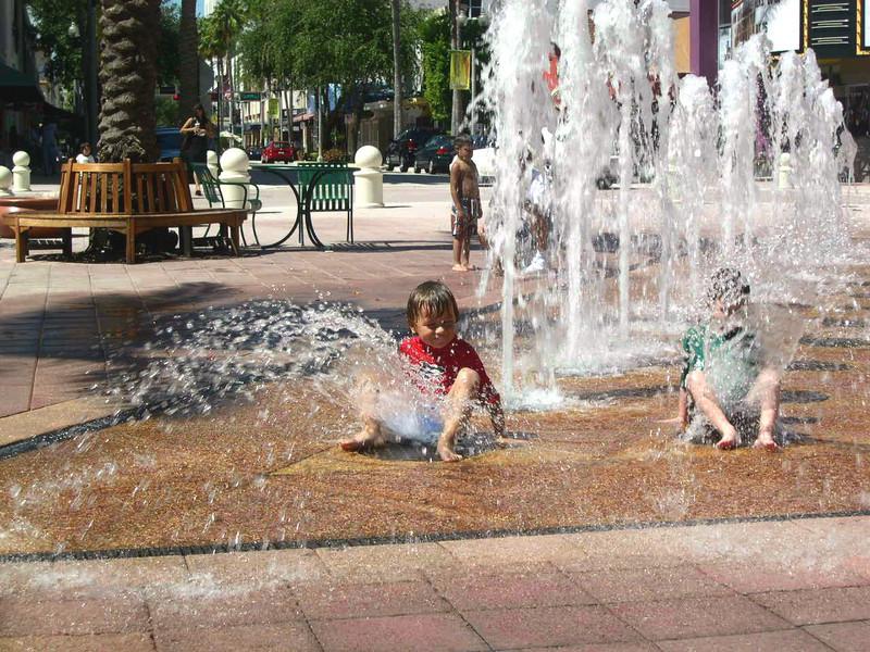 Fountain Fun.