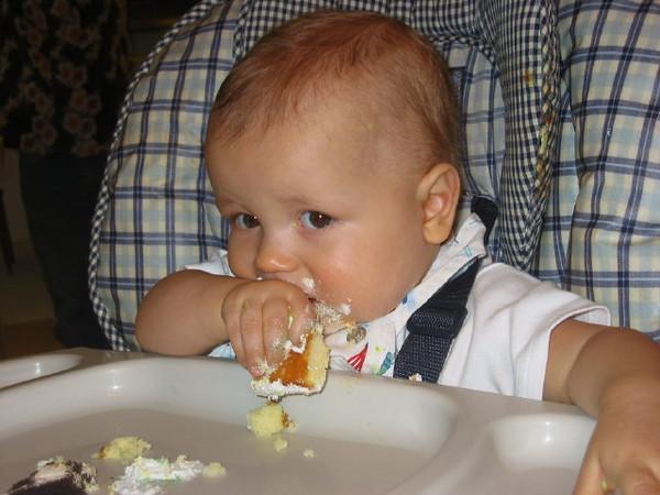Let them eat cake - My 1st birthday.