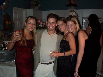 The girls love Daniel.