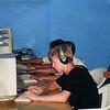 Rustem's nephew, Ivan, on computer. (Ashgabat)