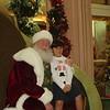 Alexander with Santa. (2007)