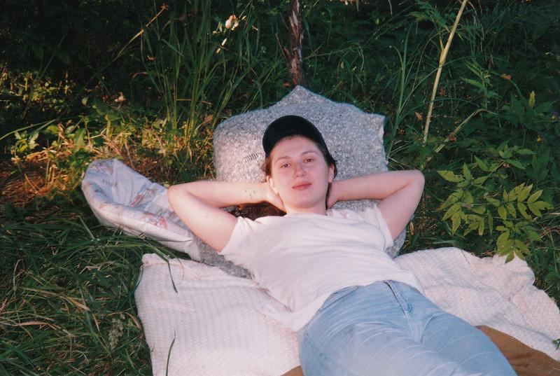 Dasha. A lazy summer afternoon at the dacha.