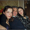 Celebrating the New Year with two nieces, Nastiya <br /> and Dasha.  At Dasha's. (12.30.07)