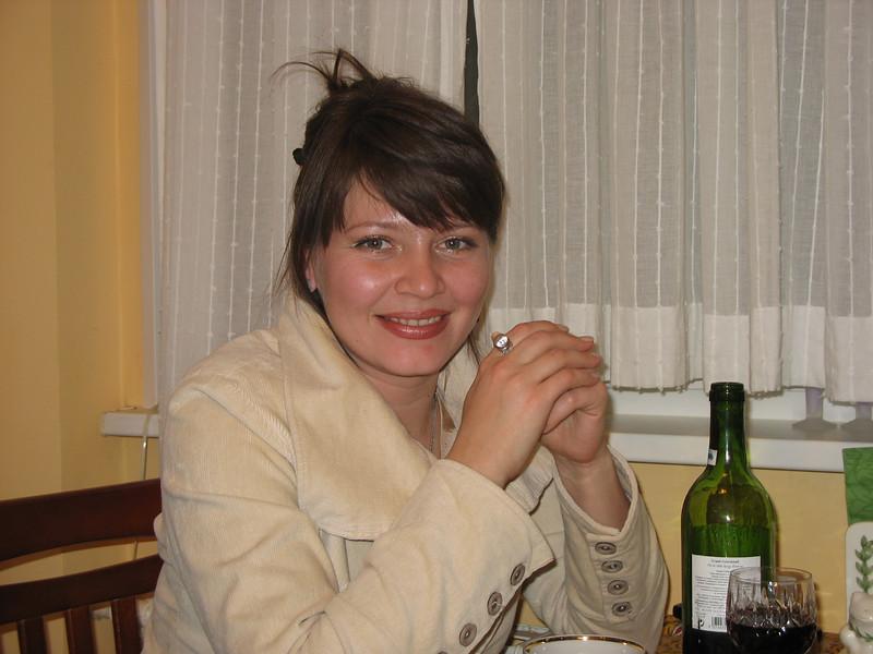 Rustem's niece, Oxana