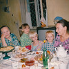 Nieces Nastiya and Anya, nephew Ivan, cousin Galya & great Aunt, Galina Petrovna. Ashgabat (09.1993)