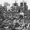 Grandfather Safronov [1st row, far left], Kerki, Turkmenistan Border Guard Unit #47. (1928)