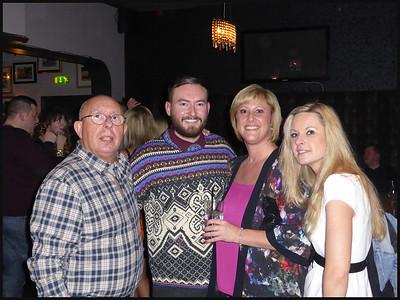 Works Christmas Party At Spy Bar, Jesmond, Newcastle on Tyne. UK - 2014.