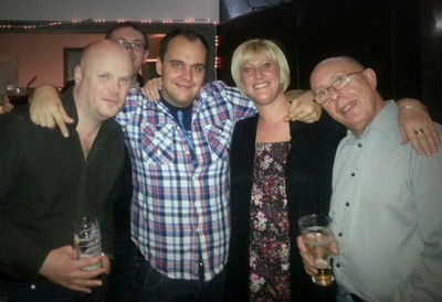 Works Night Out At The Spy Bar, Jesmond, Newcastle, UK - 2013.