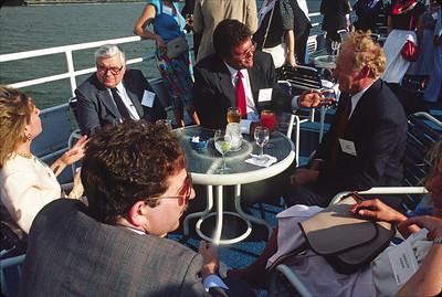 Ambac boat ride, 1987.