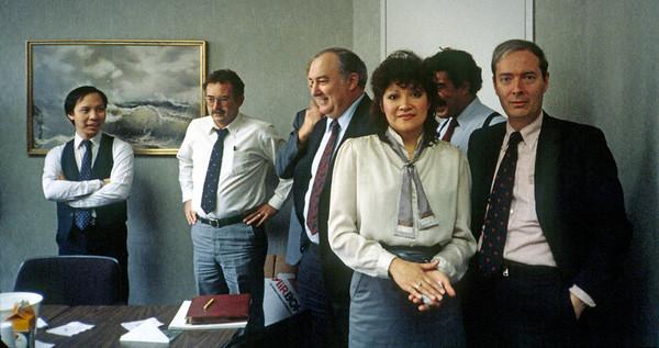 Right: Norma Cruz, Pat Cullinan, Jr.