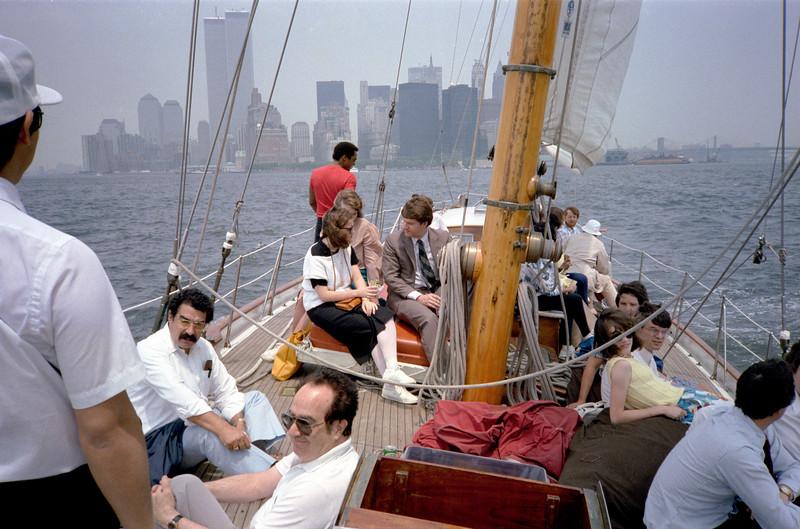 Left: John Vargas-Vila, Edwin Tawil.  June 1986.