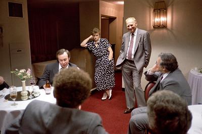 Russ Comeau, Astrida, Bill, Matt Streicher.  Ca. May, 1986.