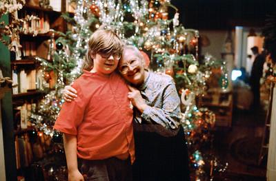 Christmas 1988 at Denis & Justine's